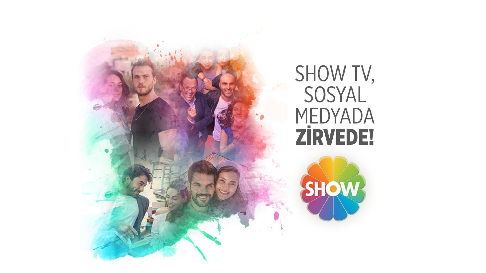 Show TV sosyal medyanın birincisi!
