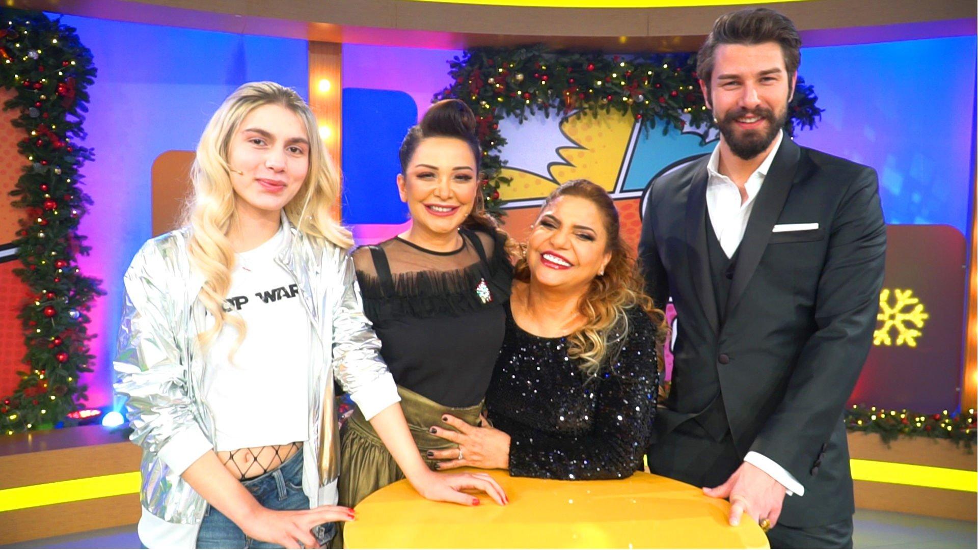 Aleyna Tilki ve Kibariye de Yılbaşı Gecesi Show TV'de!