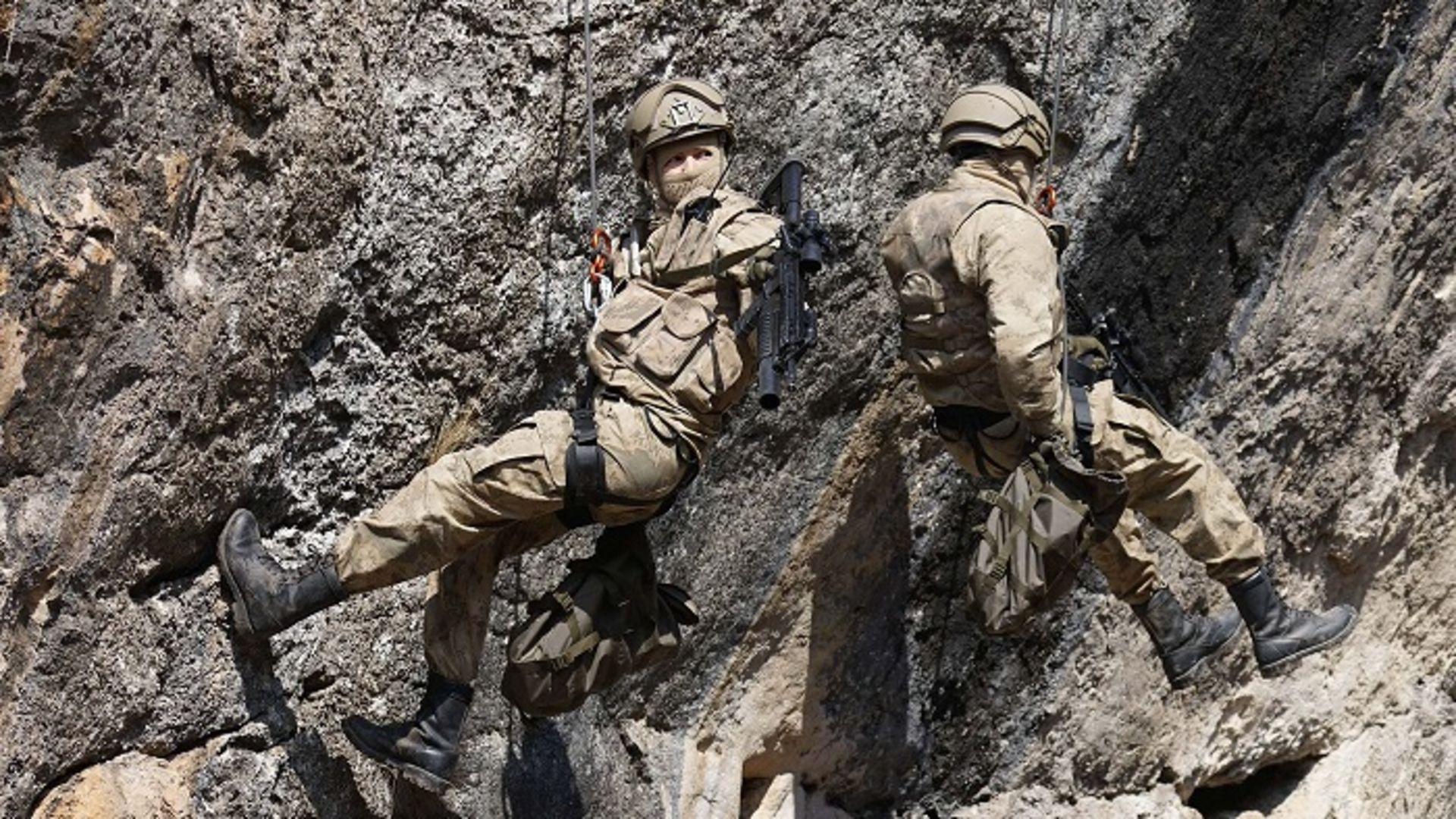 Saygın Soysal'dan kaya tırmanışı!