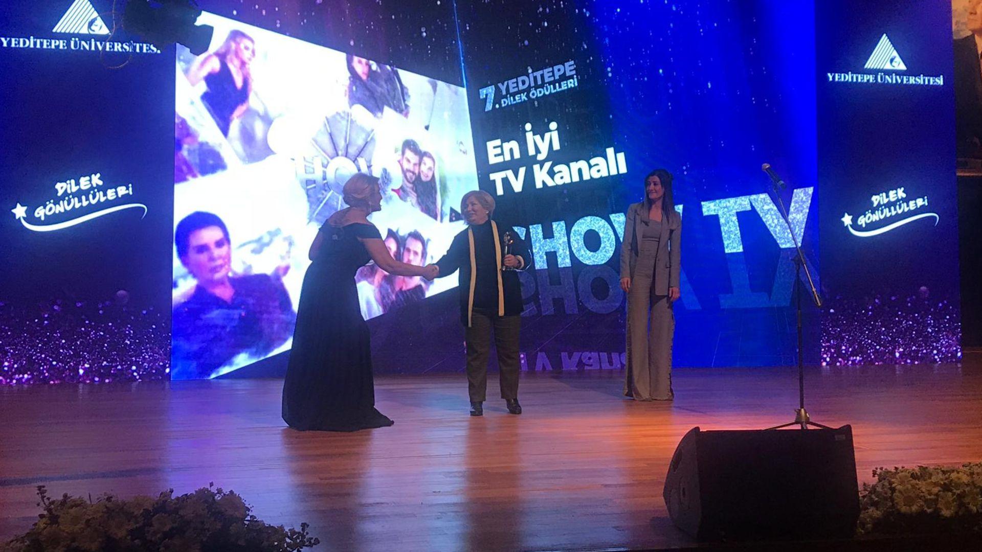 Yılın 'En İyi TV Kanalı'  Show TV!