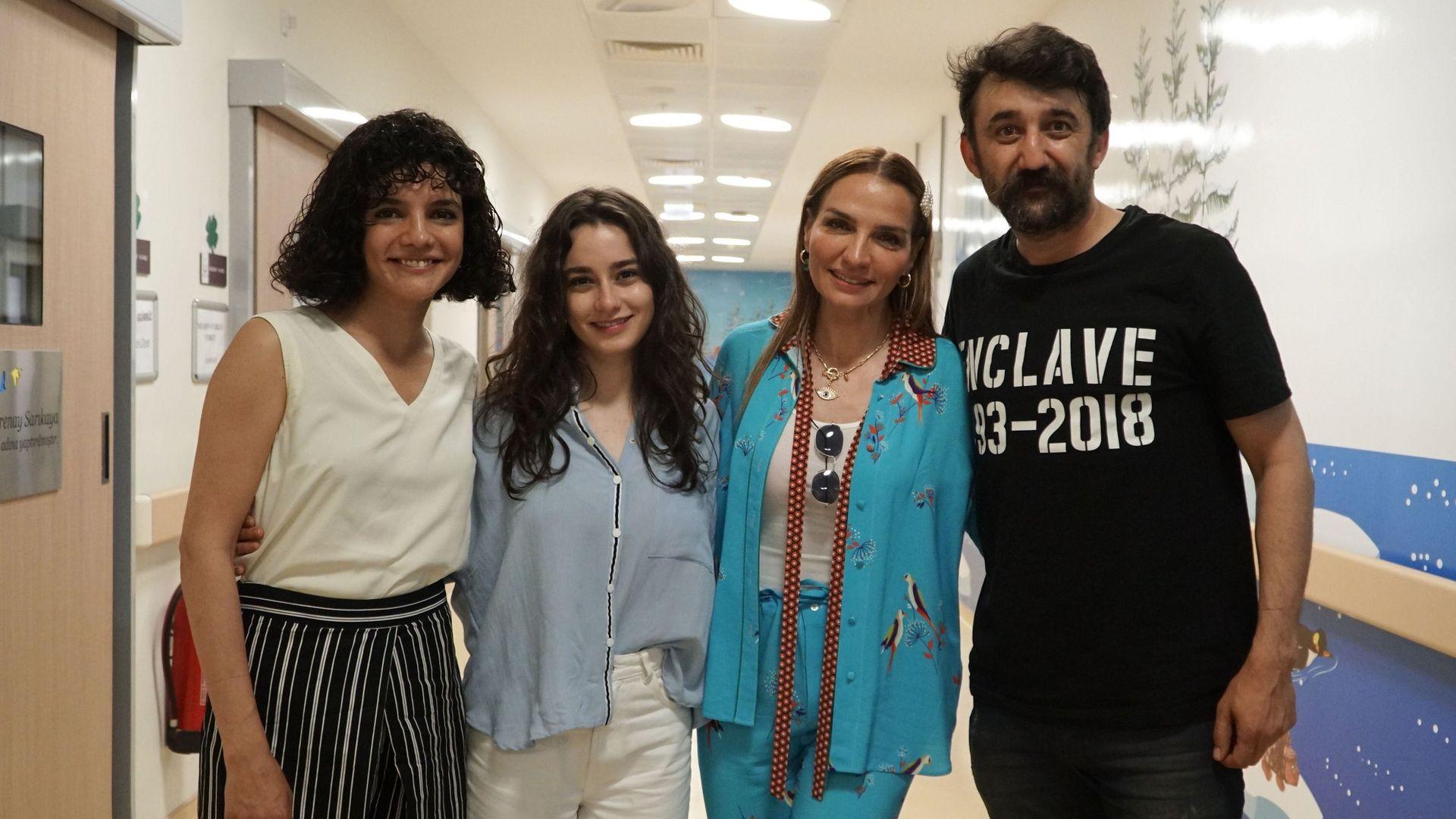 """Necip Memilli, Hare Sürel ve Ece Yaşar """"Çukur'da Umut Var"""" dedi!"""