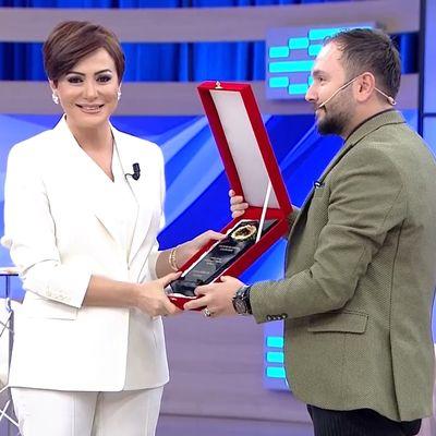 Yılın sunucusu ve haber spikeri Didem Arslan ...