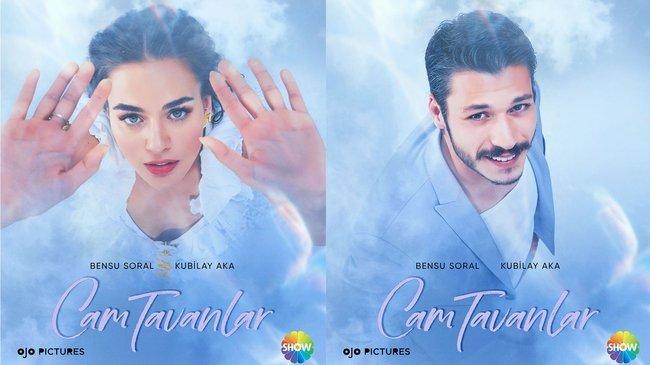Cam Tavanlar dizisinin teaser afişleri görücüye çıktı!