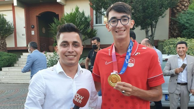 Olimpiyat şampiyonu Mete Gazoz, Bu Sabah'a konuştu!