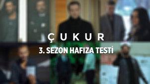 8 soruda Çukur'un zorlu hafıza testi!