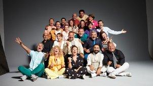 Güldür Güldür Show ekibi kahkahalarla buluştu!